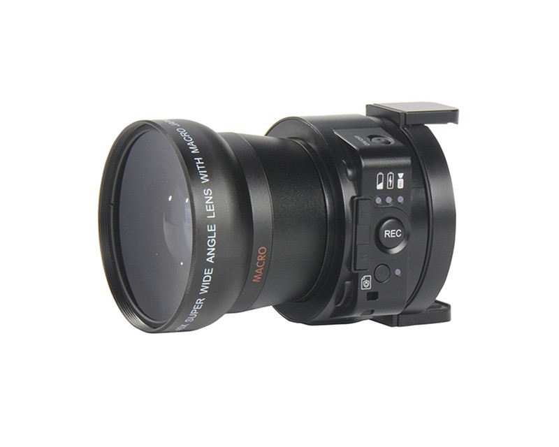 120° Wide Angle 5X Optical Zoom Lens Camera with Wifi