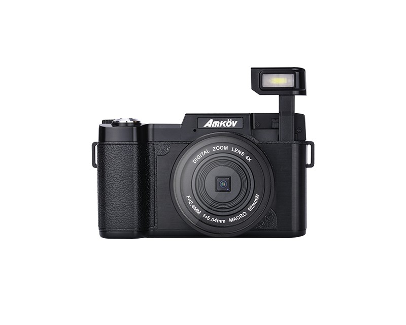 4X Digital Zoom Camera  with 180° Rotating Screen