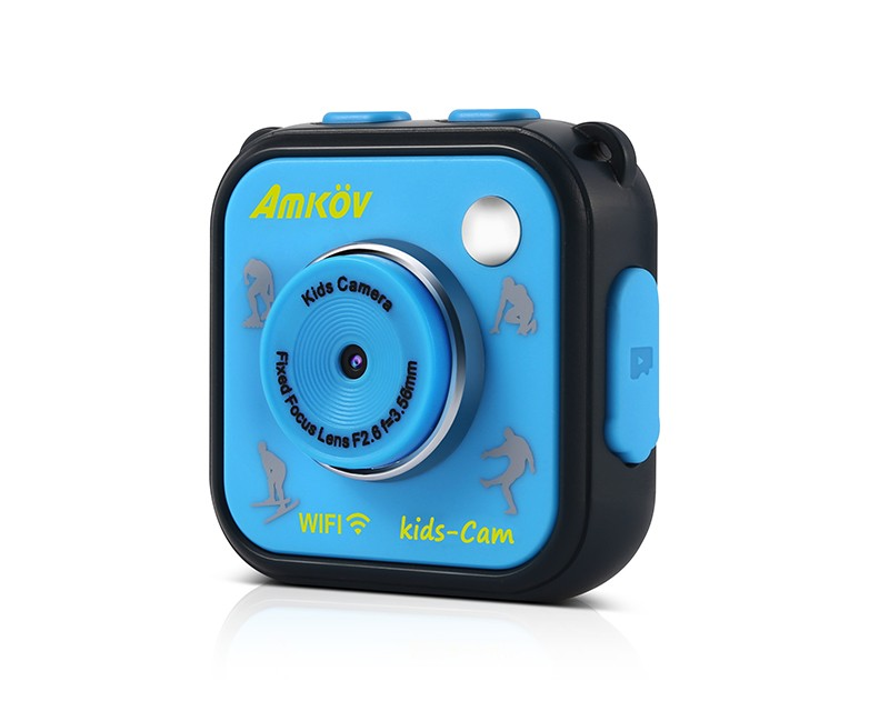 Kids Waterproof Action Camera with Wifi
