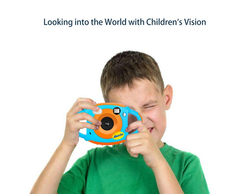 Dual Lens Selfie Creative Kids Camera with Wifi