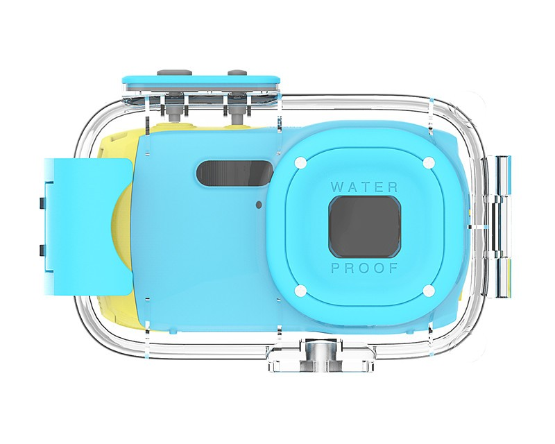 8MP 1080P Waterproof Action Camera for Kids
